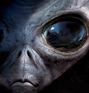 ilustrasi makhluk dari planet antah barantah